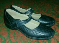 Woman's Hotter Black Mary Jane Shoes Size 5 New NWOB