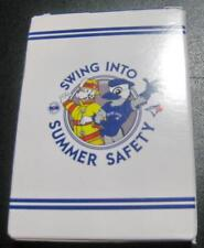 TORONTO BLUE JAYS 40TH SEASON SWING INTO SUMMER SAFETY CARD FULL SET