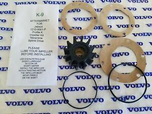 Jabsco 1210-0001-P Profile K Water Pump Impeller Kit - Volvo # 21214595 Frt.Eng.