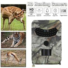 1080P HD 12MP Hunting Scout Trail Camera Night Game Wildlife Cam IR LED IP65 AU