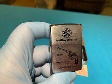 Zippo 1899 Smith & Wesson -Limited Edition- First K-Frame, Rare Vintage Lighter