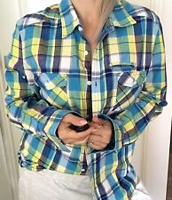 2519c165 Modern Plaids & Checks Long Sleeve Casual Shirts for Men for sale | eBay