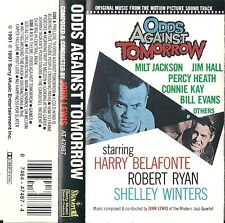 RARE - Odds Against Tomorrow (Cassette SOUNDTRACK 1991 Sony) Used VG