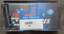 BRAND NEW FDP REAR BRAKE SHOES 720 FITS VEHICLES LISTED ON CHART