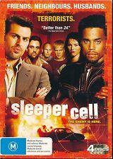 Sleeper Cell 4-disc DVD MINT Region 4 PAL