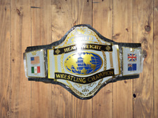 WWF HULK HOGAN 86 WORLD HEAVYWEIGHT WRESTLING CHAMPIONSHIP BELT video below