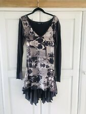 All Saints Womens Purple And White Printed Dress Size 8