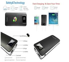 External Battery Dual Portable Cell Phone Charger 11000mAh Power Bank 2 Usb Port