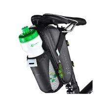 RockBros Cycling Saddle Bag Pannier MTB Road Bike Seat Water Bottle Bag Black
