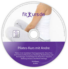 Pilates DVD: Stretching, Muskeltraining und Atemübungen