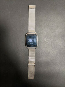 Asus ZenWatch 2 (WI501Q) Smart Watch Stainless Steel Used As Is
