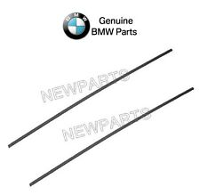 NEW BMW E53 X5 2000-2006 Pair Set of Front Left and Right Door Mouldings Genuine