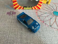 Miniature car lancia rally 037 hollow quoin rally solido at 1/43