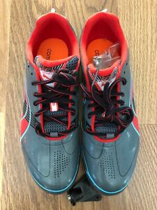 Puma Sprint Outdoor Track And Field Women's Shoes Grey/Blue/Red Size: 8.5