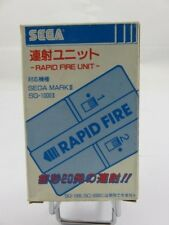 RAPID FIRE - Sega SG-1000 II / MARK III Japan complete rare very good condition!