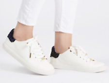 80179030a1 TOPSHOP LUXE SNEAKERS WHITE Platform Sport Athletic Lace Up Nordstrom 8  Shoes