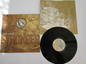 "CLIFF RICHARD: Stronger 12"" Vinyl LP Record 1989 EMD1012 - -1-2 matrix, EX/EX"