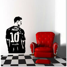 Wallpaper Messi Wall Stickers Removable Football Fans Room Home Decor PVC Decal