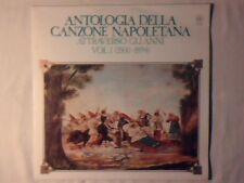 LP Antologia della canzone napoletana attraverso gli anni vol 1 (1500 - 1894) lp
