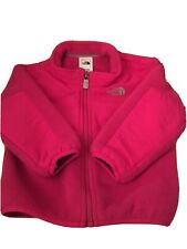 The North Face Fleece Jacket Hoodie Infant/Bebe-12-18M-PREOWNED-FUSCHIA