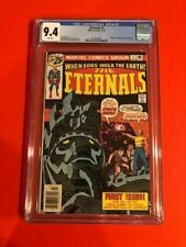 The Eternals #1 CGC 9.4 White pages! Movie coming this November! No Reserve!