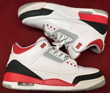 sports shoes 1e279 a9e9d 2013 Jordan Retro III 3 Fire Red White Black Cement 136064-120 Sz 11
