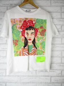 Zara T-shirt top Sz M, 10/12 Bijou Karman art collection 2019