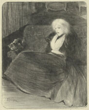 THEOPHILE STEINLEN ORIGINAL LITHOGRAPH 1897 LIMITED EDITION OF 50