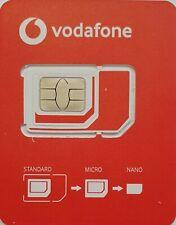 Unlimited Data in EU ⭐ Vodafone X Ireland Preloaded Sim Card 5G ⭐ Pay as you go