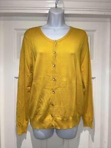 Ladies GEORGE Fine Knit Cardigan Size 14