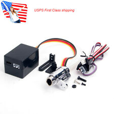 US Stock 1/10 RC Car Electronic Simulation Smoking Exhaust Pipe Upgrade Kit Set