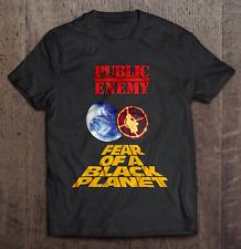 Public Enemy Fear Of A Black Planet Cotton Black New Men T-shirt Size S-4XL F102