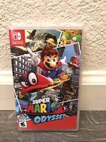 Nintendo Super Mario Odyssey Switch Game   Used