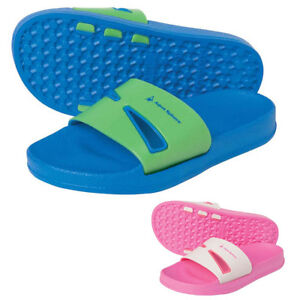Aqua Sphere BAY JR Aqua Shoes Kids Boys Girls Pool Beach Sandals Swim Flip Flops