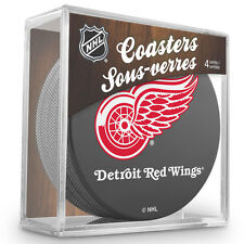 Official National Hockey League Licensed Detroit Red Wings Coaster Set