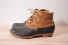 "Vintage L.L. Bean Maine Hunting Shoe 6"" duck boots men's 11 USA"
