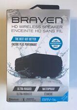 Braven Waterproof HD Wireless Bluetooth Speaker / Power Bank - BRV-1  - Black