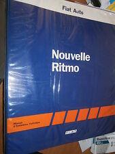 Fiat RITMO 1987 : MANUEL D'ATELIER