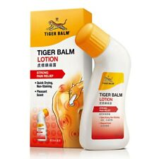 NEW Tiger Balm Lotion Extra Strength Pain Relief Shoulder Back Pain 80ml