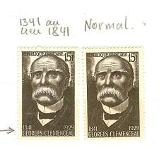 FRANCE VARIETE N° 918 1341 au lieu 1841