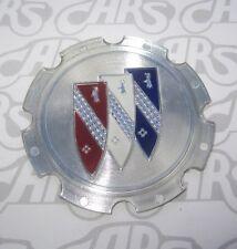 1971-1987 Buick Chrome Wheel Cap Plastic. Tri-Shield. OEM 1236441