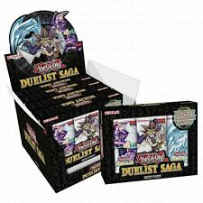 YuGiOh! - The Duelist Saga Konami Sealed Booster Box - 15 Packs - Brand New!