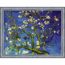 RIOLIS 1698 Almond Blossom Counted Cross Stitch Kit 14 Count
