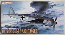 Dragon Focke Wulf Fw 190 A-8/R-11 Nachtjäger 1/48