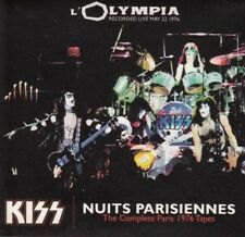 """Kiss - Nuits Parisiennes Live from """"l'Olympia"""" 1976"""