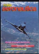 RIVISTA AERONAUTICA 1997 #3 Eurofighter Operazione Alba 50 anni USAF Terra Nova