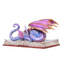 Book Wyrm Dragon Book Worm Dragons Faerie Figurine Figure Amy Brown faery statue
