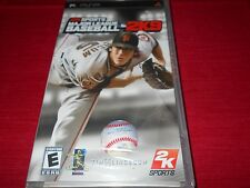 2K SPORTS MAJOR LEAGUE BASEBALL 2K9 PSP FACTORY SEALED!!! FREE SHIPPING!!! C@@L!