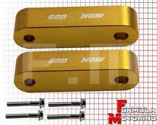 GOLD Hood Spacer Risers Set For 90-01 Integra 88-00 Civic CRX EG EK DC2 DA EF SI