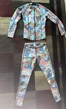 Billabong Women's Wetsuit Size 8 Two Piece Pants Long Sleeve Pastel Colors Cute